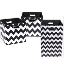 Bold Chevron 3 Piece Organization Bundle Set