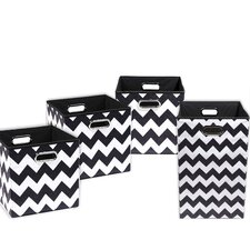 Bold Chevron 4 Piece Organization Bundle Set