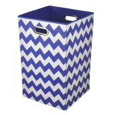 Chevron Folding Hamper