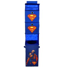 Superman Closet Hanging Organizer