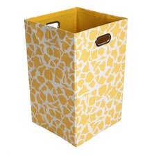 Rusty Giraffe Folding Laundry Basket