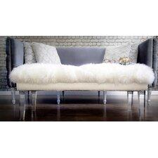 Luxe Acrylic Bedroom Bench