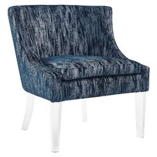 Myra Textured Velvet Club Chair