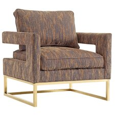 Avery Textured Velvet Arm Chair