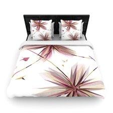 """""""Flower"""" Woven Comforter Duvet Cover"""