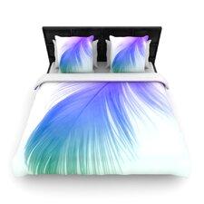 """Feather Colour"" Woven Comforter Duvet Cover"