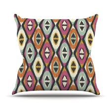 Sequoyah Diamonds Outdoor Throw Pillow