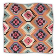 Navajo Dreams by Amanda Lane Fleece Throw Blanket