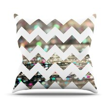 After Party Chevron by Beth Engel Throw Pillow