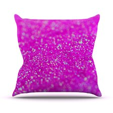Raspberry Sorbet Outdoor Throw Pillow