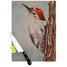 Downy Woodpecker by Brittany Guarino Cutting Board