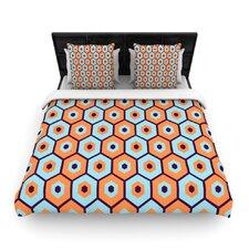 """""""Busy"""" Woven Comforter Duvet Cover"""
