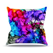 Indie Chic Outdoor Throw Pillow