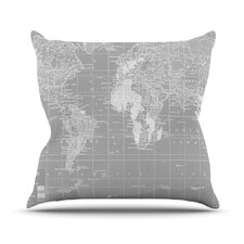 The Olde World by Catherine Holcombe Throw Pillow