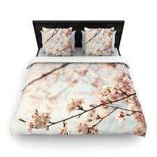 Japanese Blossom by Catherine McDonald Light Duvet Cover
