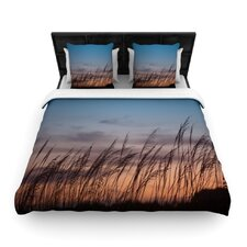 """Sunset on the Beach"" Woven Comforter Duvet Cover"