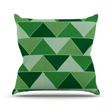 Emerald City by Catherine McDonald Throw Pillow
