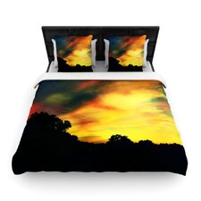"""A Dreamscape Revisited"" Woven Comforter Duvet Cover"