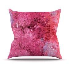 Cotton Candy Outdoor Throw Pillow