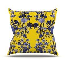 Bloom Flower Throw Pillow