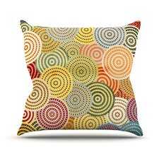 Matias Girl Polyester Throw Pillow
