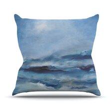 Rough Sea by Iris Lehnhardt Throw Pillow