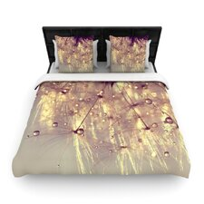 Sparkles of Gold by Ingrid Beddoes Featherweight Duvet Cover