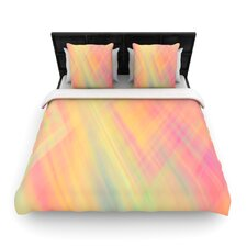 """""""Pastel Abstract"""" Woven Comforter Duvet Cover"""