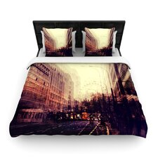 London by Ingrid Beddoes Featherweight Duvet Cover
