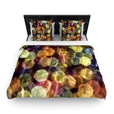 Warm Sparkle by Ingrid Beddoes Featherweight Duvet Cover