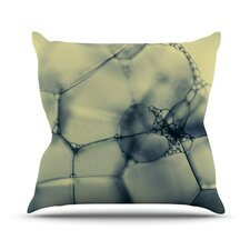 Bubbles by Ingrid Beddoes Throw Pillow