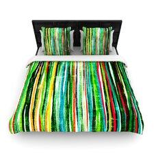 """""""Fancy Stripes"""" Woven Comforter Duvet Cover"""
