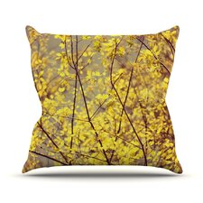 Autumn by Ingrid Beddoes Throw Pillow