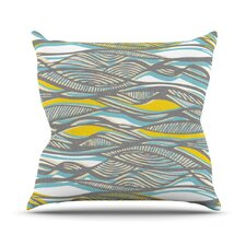 Drift by Gill Eggleston Throw Pillow