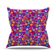 My Colourful by Julia Grifol Throw Pillow