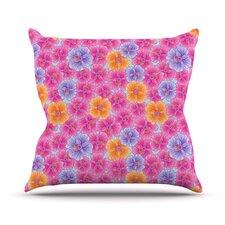 My Garden by Julia Grifol Throw Pillow