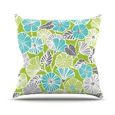 Trumpet Vine by Jacqueline Milton Throw Pillow
