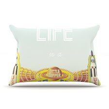 Life Is A Rollercoaster Pillow Case