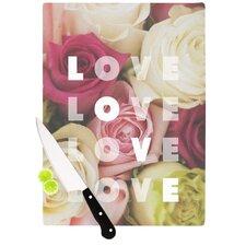 Love Love Love Cutting Board