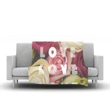 Love Love Love Throw Blanket