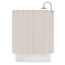 Hexy Small Shower Curtain