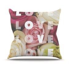 Love Love Love Throw Pillow
