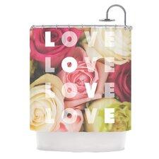 Love Love Love Shower Curtain