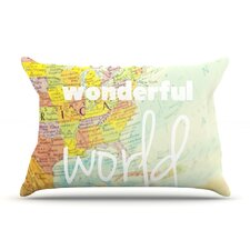 What A Wonderful World Pillow Case