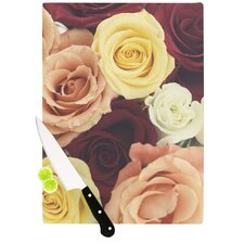 Vintage Roses Cutting Board