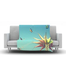 Flying Chairs Throw Blanket