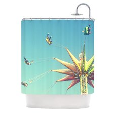 Flying Chairs Shower Curtain