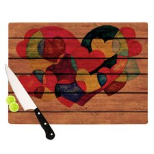 Wooden Heart Cutting Board