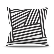 Stripes by Louise Machado Throw Pillow