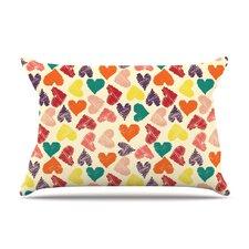 Little Hearts Pillow Case